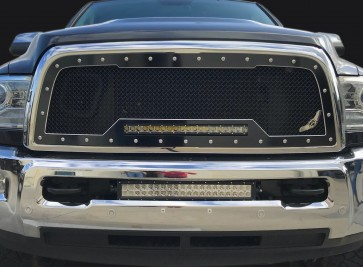 2013-2018 Dodge Ram 2500/3500 HD A-I Machined Grille