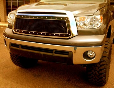 2010-2013 Toyota Tundra, A-II Double Framed Grille Insert