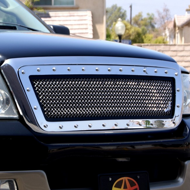 2004 2008 Ford F150 Special Edition Chrome Grille Insert