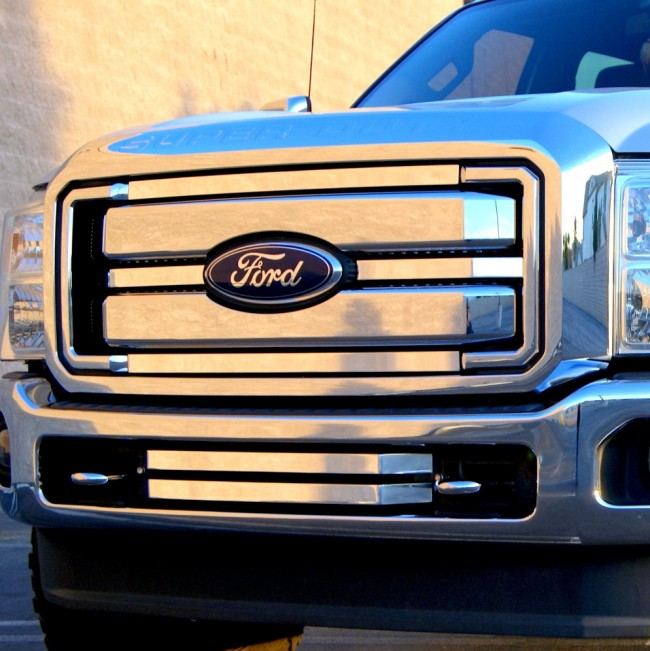 2011-2013 Ford Super Duty 4PC Black Market Accent Overlay