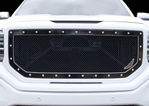 Ablaze Grilles 2016-2017 GMC Sierra SLT/SLE 1500 A-I MACHINED Grille Insert
