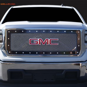 Ablaze Grilles 2014-15 GMC Sierra 1500 Large Wire Mesh Grille-Insert